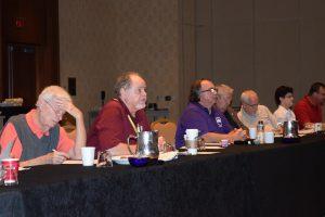 The AGSC AGRSS Standard Committee met during Auto Glass Week in San Antonio.
